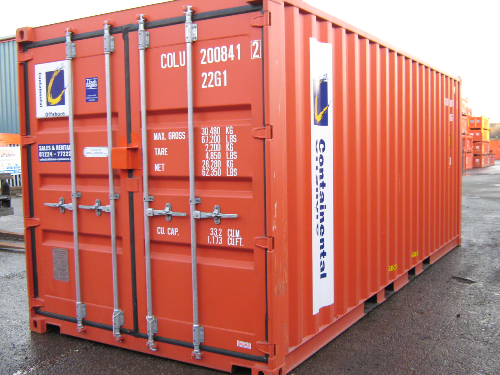 Container code